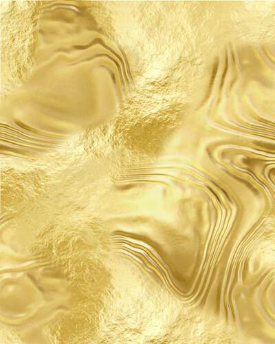 Ben Charles Weiner, 'Abstract (Gold)', 2018