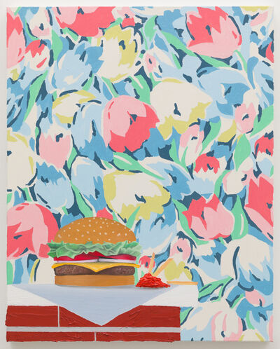 Alec Egan, 'Cheeseburger on Mantle', 2019