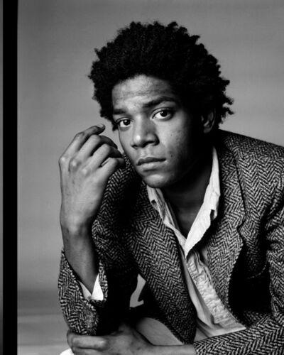 Richard Corman, 'Basquiat A Portrait VI', 1984
