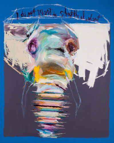 Won Kuk Woo, 'Shooting An Elephant', 2014