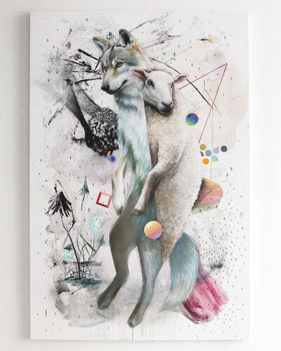 "Super A, 'Collin van der Sluijs and Super A ""A Wolf In Sheep's Clothing""', 2017"
