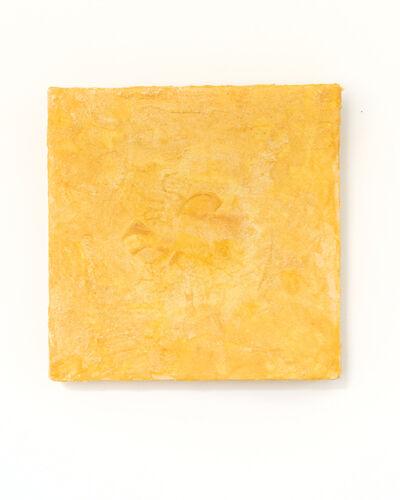 Vincent Tiley, 'Indian Yellow Study no. 3 (Pis-en-lit)', 2018