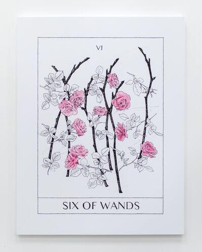 Mieke Marple, 'Six Of Wands', 2017