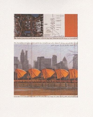 Christo, 'The Gates (c)', 2004