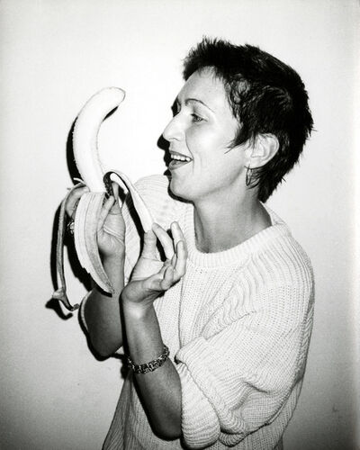 Andy Warhol, 'Pat Hackett with a Banana', 1986