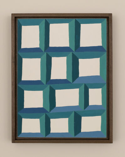 Tyler Beard, 'Blue Green Windows ', 2017