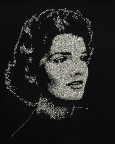 Vik Muniz, 'Jackie (Pictures of Diamonds Series)', 2005