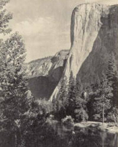Ansel Adams, 'El Capitan', 1927