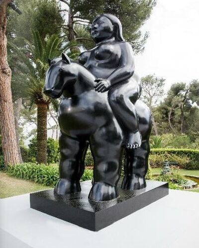Fernando Botero, 'Donna su Cavallo', 2015