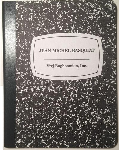 "Jean-Michel Basquiat, '""Jean-Michel Basquiat, Edition Baghoomian, Inc."", 1989, Edition of 1000, Notebook ', 1989"