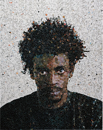 Vik Muniz, 'Jorge (from the series 'Pictures of Magazines')', 2001