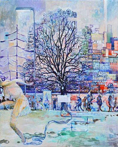 Serge Nyfeler, 'Winter in the city', 2018