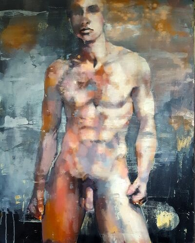 Thomas Donaldson, '10/28/18 Standing Male Figure', 2018