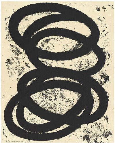 Richard Serra, 'Finally finished ', 2017