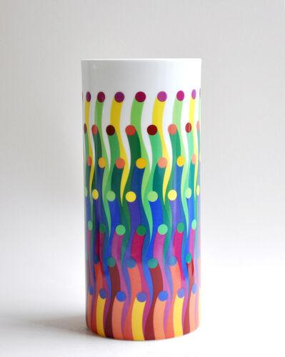 Julio Le Parc, 'Surface Colorée B29 Tube Vase ', 2016