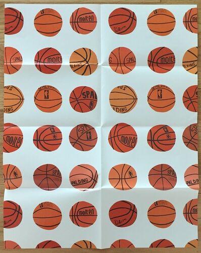 Jonas Wood, 'Untitled (Basketballs)', 2013