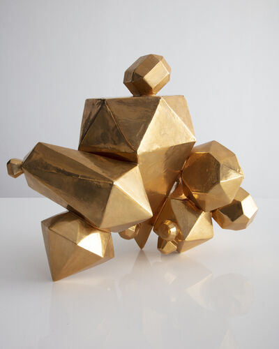 Kelly Lamb, 'Unique Gem Cluster in ceramic with a gold glaze', 2018