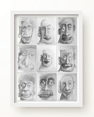 R E Sabean, 'Asymmetries 1', 2017