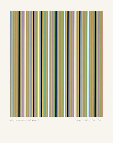 Bridget Riley, 'Light Between', 1981-2004