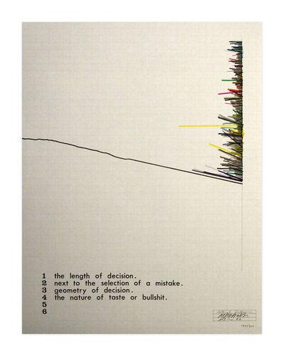 Shusaku Arakawa, 'Natural History', 1969