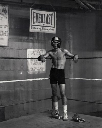 Kurt Markus, 'Abbi Vega, Gleason's Gym, New York', 1990