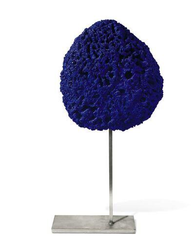 Yves Klein, 'Untitled Blue Sponge Sculpture, (SE 242)', ca. 1960