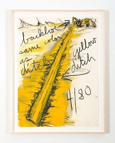 Kate Ericson and Mel Ziegler, 'Untitled (Backhoe)', 1980