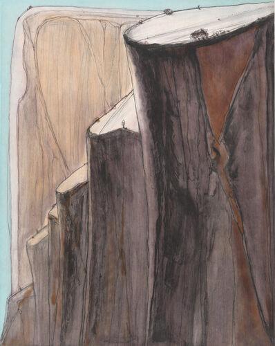 Wayne Thiebaud, 'Canyon Bluffs', 2014