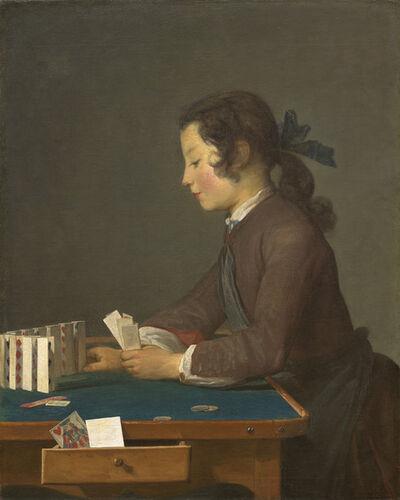 Jean-Siméon Chardin, 'The House of Cards', Probably 1737