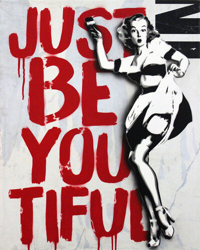 Rich Simmons, 'Just Be You Tiful ( White Edition)', 2016
