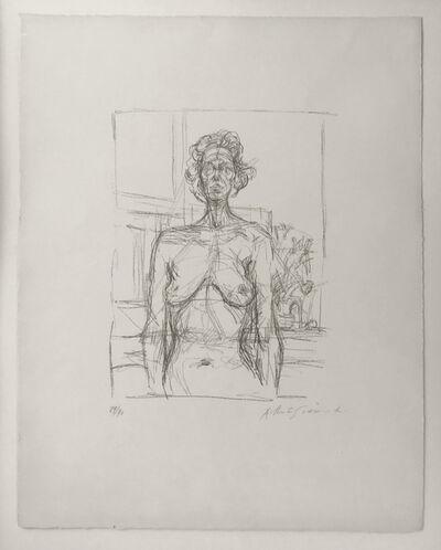 Alberto Giacometti, 'Nu aux fleurs', 1960