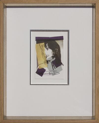Andy Warhol, 'Mick Jagger, 1975-09 ', 1975