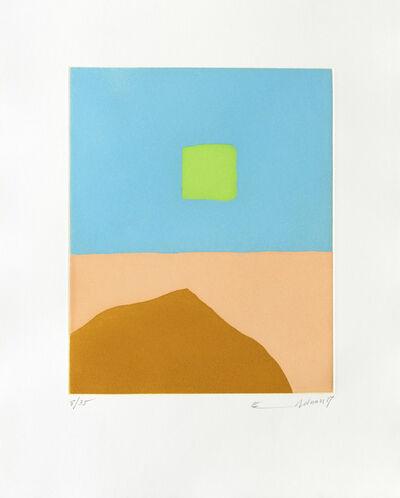 Etel Adnan, 'Feu du désert (Le)', 2018
