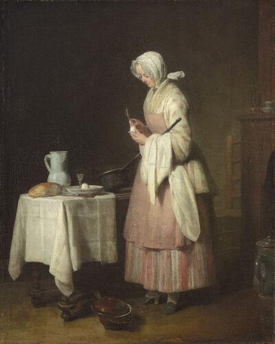 Jean-Siméon Chardin, 'The Attentive Nurse', 1747