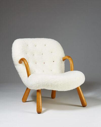 "Philip Arctander, '""Clam"" easy chair', 1944"
