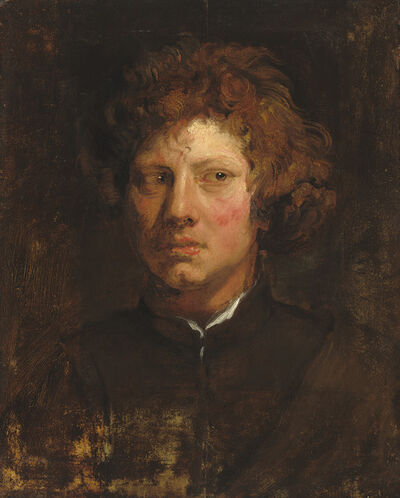 Anthony van Dyck, 'Head of a Young Man', ca. 1617/1618