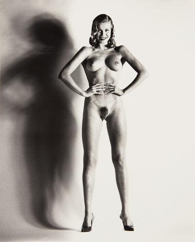 Helmut Newton, 'Big Nude, Una, Nice', 1993