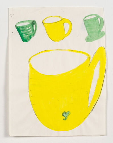 Margaret Brown, 'Three Coffee Cups'