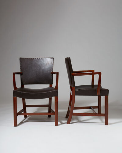 Kaare Klint, 'Pair of armchairs model 3758 A', 1927