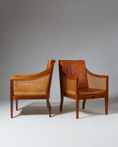Kaare Klint, 'Pair of armchairs model 4488', 1931