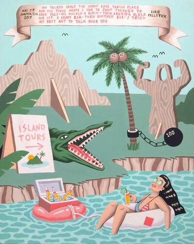 Luke Pelletier, 'Island Tours', 2017