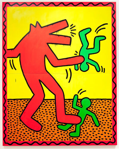 Keith Haring, 'Untitled', October-1982