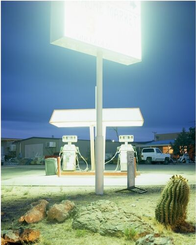 "Seba Kurtis, 'Apache, Arizona, from the series ""700 miles""', 2008"