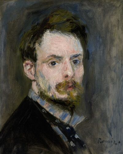 Pierre-Auguste Renoir, 'Self-Portrait', ca. 1875