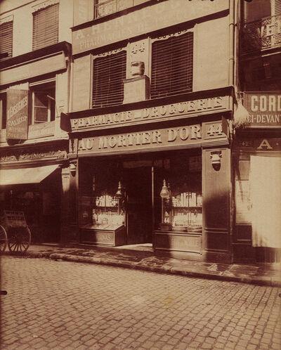 Eugène Atget, 'Rue des Lombards, Paris', 1910c/1910c