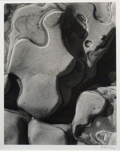 Edward Weston, 'Eroded Rock,Point Lobos(Sandstone Erosion)', 1946