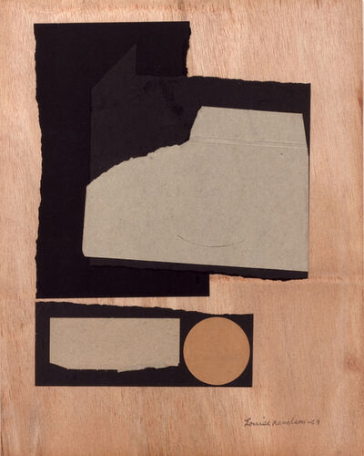 Louise Nevelson, 'Untitled ', 1969