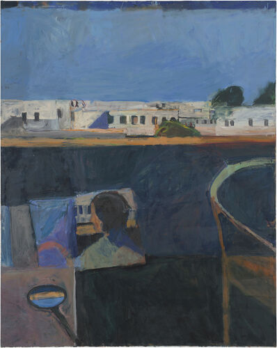 Richard Diebenkorn, 'Interior with View of Buildings', 1962