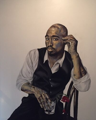 Robert Peterson, 'The Rose That Grew From The Concrete, Tupac Shakur', 2018