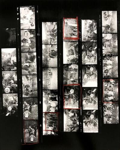 Robert Frank, 'Contact Sheet #39 (Newburgh, New York)', 2009